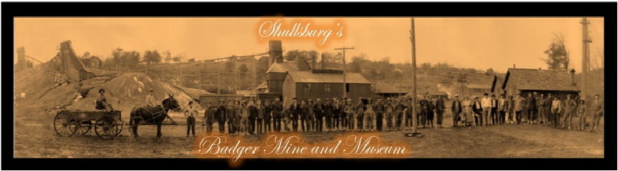 hardworking miners working in shullsburg mine